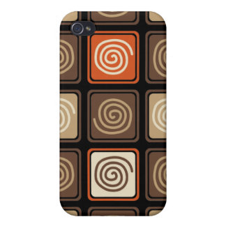 Trendy Abstract - Coffee iPhone 4 Case