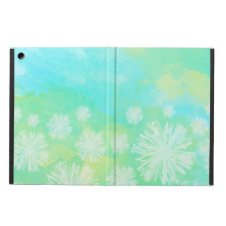 Trendy Abstract & Floral Pattern iPad Case