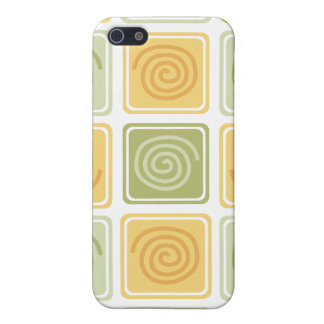 Trendy Abstract - Lime & Lemon iPhone SE/5/5s Case