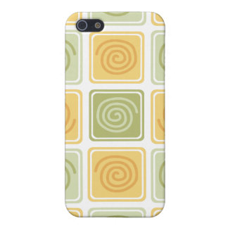 Trendy Abstract - Lime & Lemon iPhone SE/5/5s Cover