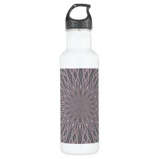 Trendy abstract modern pattern 24oz water bottle