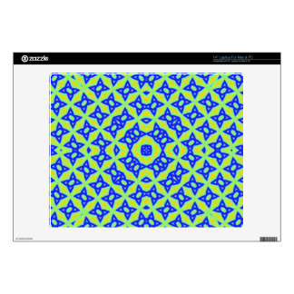 "Trendy abstract pattern 14"" laptop decal"