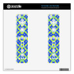Trendy abstract pattern decals for the wii remote