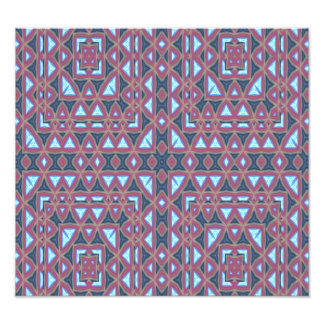 Trendy abstract pattern art photo
