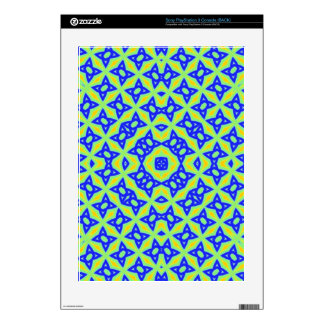 Trendy abstract pattern PS3 console skins