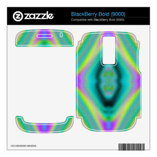 Trendy abstract pattern decal for BlackBerry bold