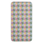 Trendy Abstract  square and triangle pattern