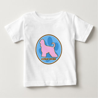 Trendy Afghan Hound Baby T-Shirt