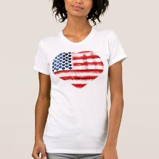 TRENDY AMERICAN FLAG,AMERICAN FLAG HEART T SHIRT