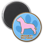 Trendy American Pit Bull Terrier Refrigerator Magnet