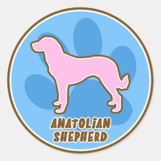 Trendy Anatolian Shepherd Stickers