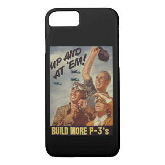 Trendy and vintage look celebrates Navy Aviation! iPhone 7 Case