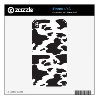Trendy Animal Spots  Masculine Design Decal For iPhone 4