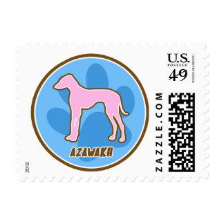 Trendy Azawakh Postage Stamps