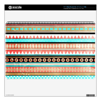 "Trendy aztec 11"" MacBook air decal"