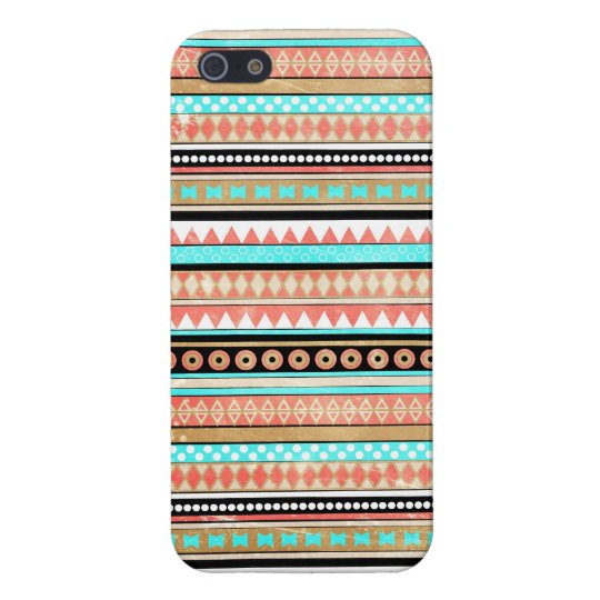 Trendy aztec cover for iPhone SE/5/5s