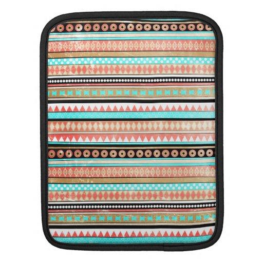 Trendy aztec iPad sleeves