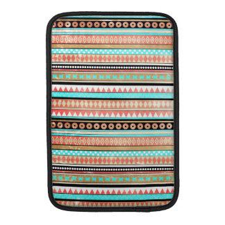 Trendy aztec MacBook sleeve