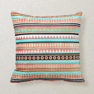 Trendy aztec pillow