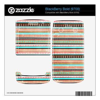 Trendy aztec BlackBerry skin