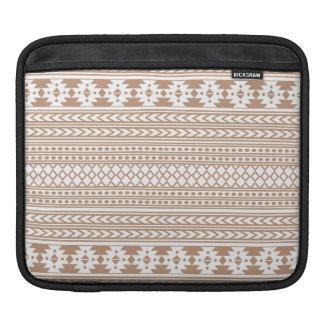 Trendy Aztec Tribal Print Geometric Pattern Sleeve For iPads