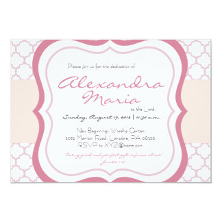 Baby dedication invitations announcements zazzle trendy baby dedication christening invitation stopboris Image collections