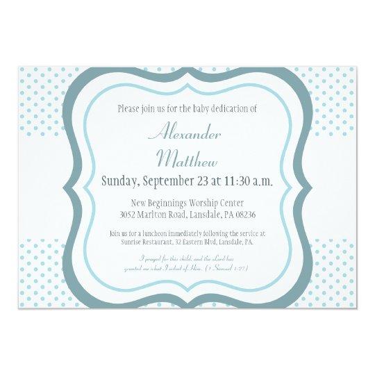 Trendy Baby Dedication Christening Invitation Zazzle Com