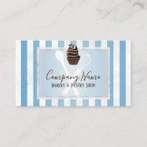 Trendy Bakery | Pastry Chef Business Card
