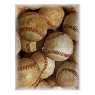 Trendy Baseball Artwork Postcard