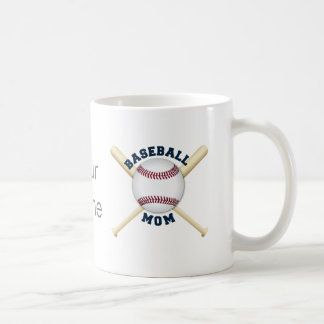 Trendy baseball mom coffee mug