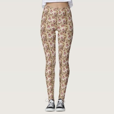 merydesigns TRENDY BEAUTIFUL FLOWERS LEGGINGS