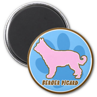 Trendy Berger Picard 2 Inch Round Magnet