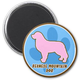 Trendy Bernese Mountain Dog Magnet