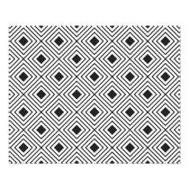 Trendy Black And White Geometric Tribal Pattern Flyer