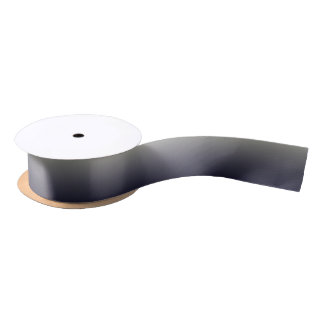 Trendy Black Ombre Gradient Blank Ribbon