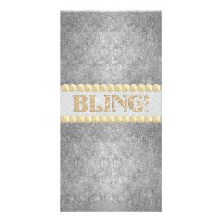 Trendy Bling! Design Custom Photo Card