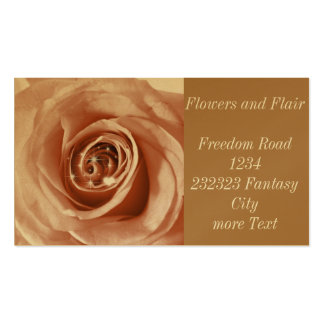 trendy bling on rose Double-Sided standard business cards (Pack of 100)