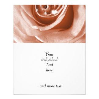 trendy bling on rose,soft peach (I) Flyer
