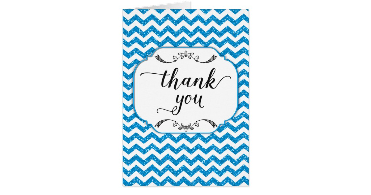 Baby Gift Thank You Card Packs : Blue glitter thank you pack images pink gold