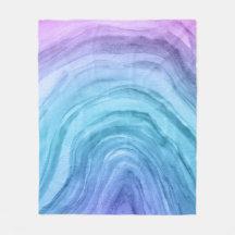 Geode Blankets Throws Zazzle