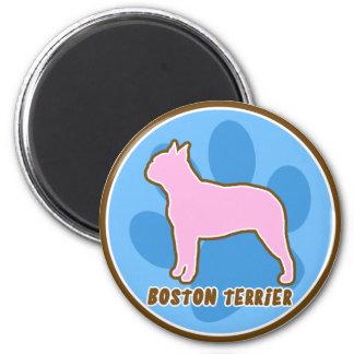 Trendy Boston Terrier Magnet