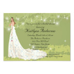 Trendy Bride Bridal Shower Invitation
