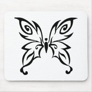 Trendy Butterfly Design Mouse Pad