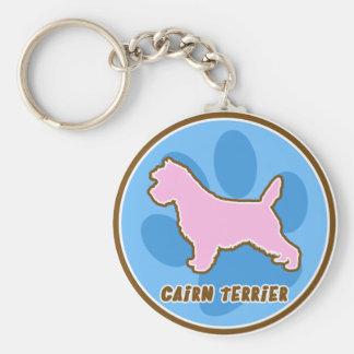 Trendy Cairn Terrier Keychain