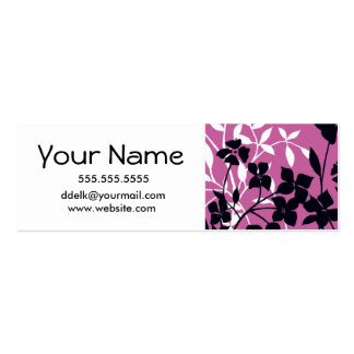 Trendy Calling Cards Double-Sided Mini Business Cards (Pack Of 20)