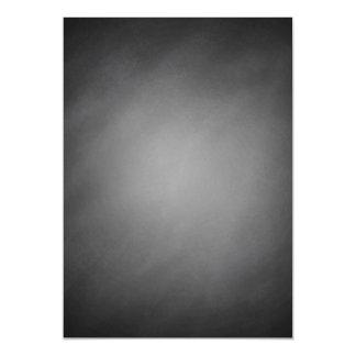 Trendy Chalkboard Vignette Magnetic Card