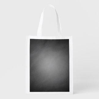 Trendy Chalkboard Vignette Reusable Grocery Bag