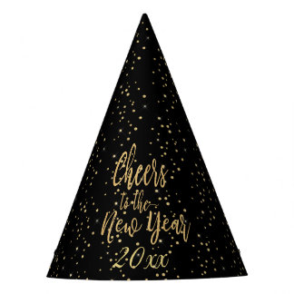 Trendy Cheers to the New Year Party Hat