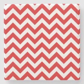 Trendy Chevron Stone Coaster