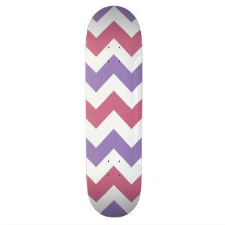 Trendy Chevron Zigzag Pattern 10 Skateboard Deck